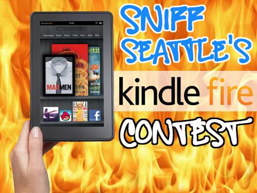 Sniff Seattle's Kindle Fire Contest, Furry 5K Seattle, Dog Walker Bellevue Seattle